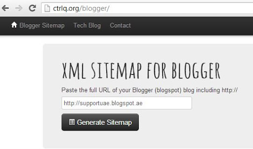 how to create an xml sitemap for blogger blogspot nitdroid